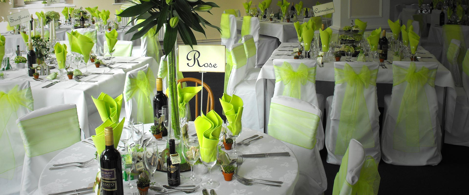 Wedding Receptions and Private Functions