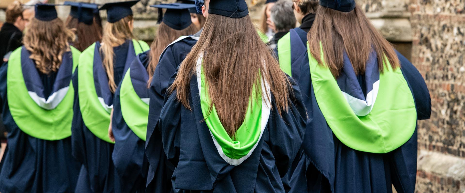 Graduation Robe Hire Writtle University College