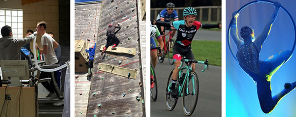 Sports, Cycling and Aerial Performance