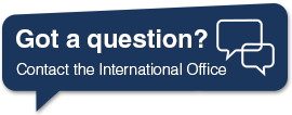 Contact the International Office