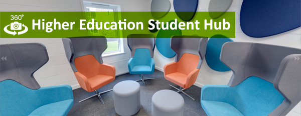 Writtle University College - 360 Degree Higher Education Student Hub link