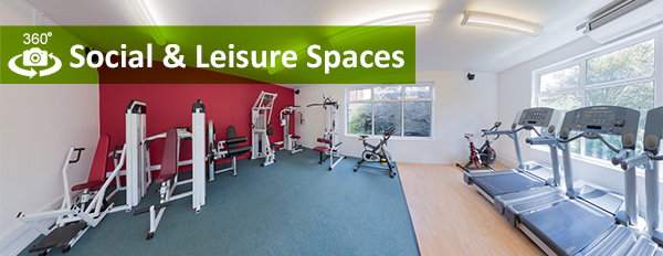 Writtle University College - 360 Degree Social and Leisure Spaces link