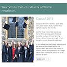 Alumni of Writtle - Newsletter - September 2015