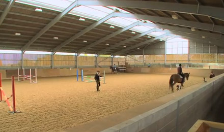 Writtle University College Undergraduate Equine Video