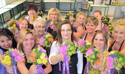 Writtle University College Further Education Floristry Video