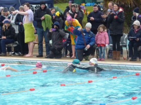 Image for press release - Writtle College Sport Lecturer completes epic swim challenge!