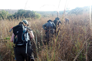 Image for press release - WUC students visit South African Nature Reserve