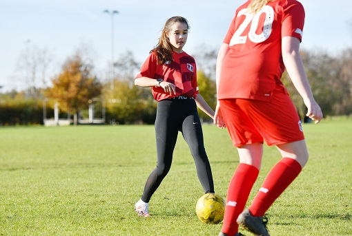 Image for press release - Strong start for new Female Football Academy
