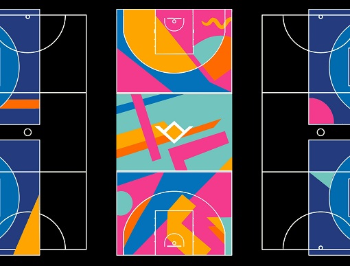 Image for press release - Writtle University College 3x3 basketball court designs